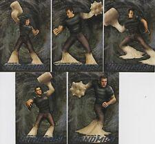 2007 MARVEL SPIDER-MAN SANDMAN CHASE CARDS S1-S5