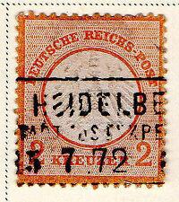 German & Colonies Used 8 Number Stamps