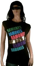 AMPLIFIED Official RAMONES Strass Rock ViP Vintage Oversize T-Shirt g.XS/S 34/36
