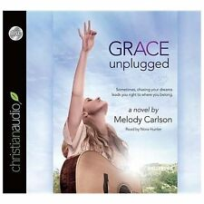 Grace Unplugged - Carlson, Melody - AUDIOBOOK 6 CD's BRAND NEW & FREE SHIPPING