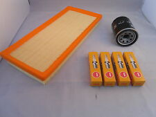 Fiat Stilo 1.2 16v Petrol Service Kit Oil + Air Filter Spark Plugs 2002-Onwards