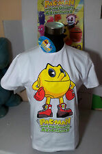 "PAC-MAN T-SHIRT TG.""S"" MAGLIETTA BANDAI AND GHOSTLY ADVENTURES ORIGINALE"