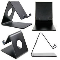 Black Metal Stand For Apple iPhones: 3GS / 4 / 4S / iPod Touch / 5 / 5C / 5S