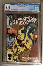 AMAZING SPIDER-MAN #265 CGC 9.8 1st Appearance of SILVER SABLE Movie Coming