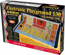 Elenco 130-in-1 Electronic Playground and Learning Center-EP-130-AGES 10+