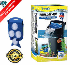 40 GALLON FISH TANK Filter Aquarium Water Filtration Canister Turtle Reptile