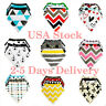 Boy Girls Newborn Baby Saliva Towel Feeding Triangle Cotton Bibs Bandana Scarf
