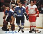 "LES BINKLEY Autographed Signed 8"" x 10 Photo Pittsburgh Penguins COA"