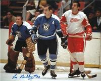 "LES BINKLEY Autographed Signed 8"" x 10 Photo Pittsburgh Penguins COA"