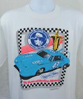 Vintage 80s Richard Petty T Shirt NASCAR Single Stitch USA Size 2XL Screen Stars