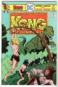 Kong The Untamed #3, Near Mint Minus Condition