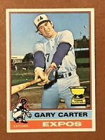 1976 Topps Gary Carter Card #441 NM HOF 2nd Year Montreal Expos