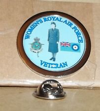 HM Armed Forces Women's Royal Air Force veteran lapel pin badge.