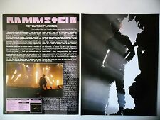 COUPURE DE PRESSE-CLIPPING :  RAMMSTEIN [8pages]12/2009 Christoph Schneider