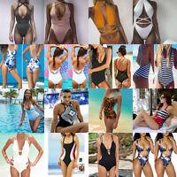 Sexy Women's One Piece Monokini Bikini Push-up Swimsuit Bathing Suit Swimwear