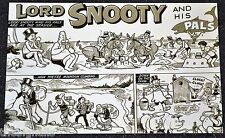 Classic BEANO Lord SNOOTY art by Dudley D Watkins  POSTCARD new