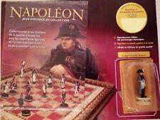 Figurine Collection Jeux d'Echecs Altaya Napoléon 1er Austerlitz avec fascicule