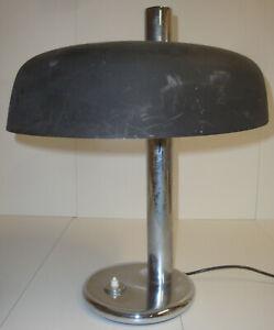 70er Hochw. Design Egon Hillebrand Tischlampe Stehlampe Lampe Leuchte Space Age