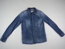 G-Star Shirt 'HUSSAR DENIM SLIM SHIRT WMN' Size L LOOKS NEW RRP $189 Womens