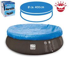 Poolabdeckung mit Gummizug  Für Quick-Up Pool 390cm oder Stahlrahmen Pool  366cm