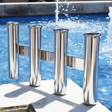 316 Stainless Steel Fish Rod Holder 4 Rod Rack Fishing Rod Marine For Boat Parts