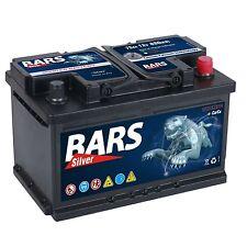 BARS 12V 75 Ah 680A EN AUTOBATTERIE ersetzt 66Ah 68Ah 70Ah 72Ah 74Ah 80Ah 85Ah