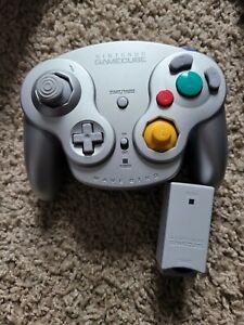 Nintendo WaveBird Wireless Controller w/ Receiver Silver GameCube GCN Game Cube
