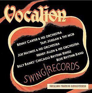 Swing Vocalion BRAND NEW CD