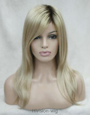 Fashion Long Straight Heat Resistant Women Natural Daily wig Hivision TLH034