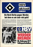 BL 77/78 Hamburger SV - SV Werder Bremen, 18.02.1978
