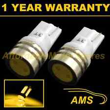 2X W5W T10 501 AMBER HIGH POWER LED SMD INTERIOR COURTESY LIGHT BULBS IL100701