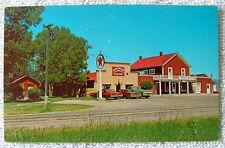 Postcard Blue Moon Saloon Texaco Oil Sign Post Office Cameron Montana #pq026