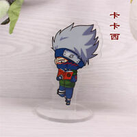 Anime Naruto Hatake Kakashi Action Figure Acrylic Ornament Stand Figure Gift