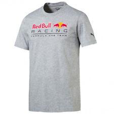 PUMA Red Bull Racing Logo Tee Light Grey Heather XL