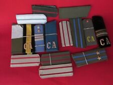 lot 15 pair Military Russian USSR UNIFORM SHOULDER STRAPS CHEVRON OF SOLDIER