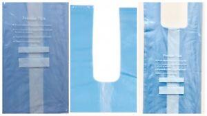 Tie Handle knot Food & Freezer Storage Storing Plastic Bags Small Medium Large
