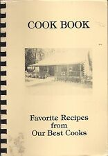*GREENVILLE SC 1989 SENIOR CITIZENS COOK BOOK *LOG CABIN COUNTRY STORE *RECIPES