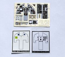 Dreammodel 1/48 Color PE  F-15C Cockpit Detail for GWH 48015