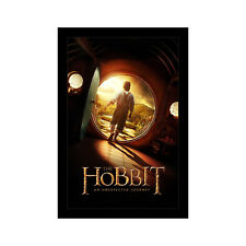 THE HOBBIT AN UNEXPECTED JOURNEY - 11x17 Framed Movie Poster by Wallspace