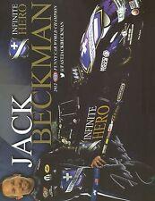 Jack Beckman Signed 8X10 Photo Nhra Autograph 2012 Nhra Funny Car World Champion