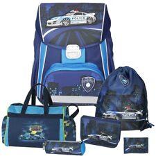 Spirit Police - Polizei - Leicht-Schulranzen Set 6tlg. mit Sporttasche