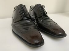 Mens DOLCE & GABBANA Leather, Brown & Black Lace-up Brogues UK 9 (43).