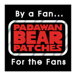PadawanBear Patches