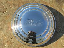"1941 Ford Hubcap w/Ford script -  Set of 4 - Brand New 8 1/8"" LIP DIAMETER"