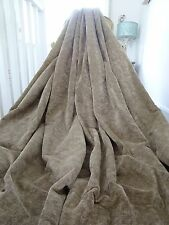 DESIGNERS GUILD CURTAINS heavy VELVET CHENILLE contemporary chic BLACKOUT lined