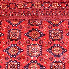 Tapis couleur naturelles 100% laine 298x197cm Marron d'Orient