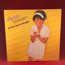 "DONNA SUMMER She Works Hard For The Money 1983 UK 12"" vinyl single EXCELLENT CON"
