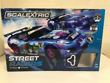 Scalextric Street Racers Set 2 x GT Anime Cars 4 Track Layouts Options 5+ Years