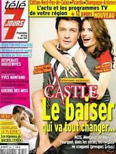Télé 7 Jours N°2684 Castle Nathan Fillion Kate Beckett Stana Katic