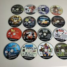 Lot Of 16 Playstation 2 Games PS2 PS1 For Parts/Not Working GTA Guitar Hero